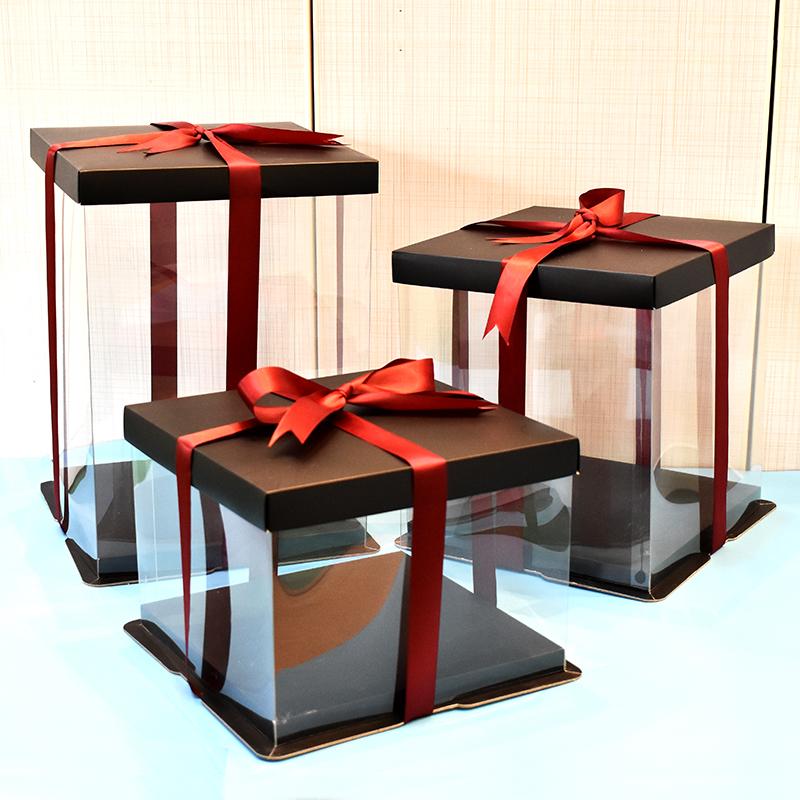 14寸双层蛋糕盒