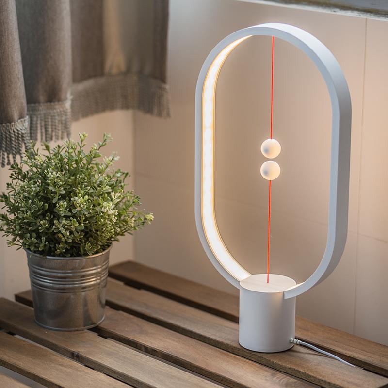 护眼阅读卧室装饰台灯 led 红点奖衡家居生活智能创意平衡磁吸开关