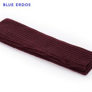 BLUE ERDOS 18秋冬新品纯色羊绒手臂套半指手套袖套