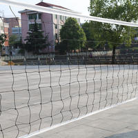 Gas volleyball net platoon portable competition special volleyball net standard beach volleyball net with steel wire rope