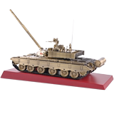 True brother 1:30 China 99 type main battle tank model metal alloy finished military armored combat vehicle toy