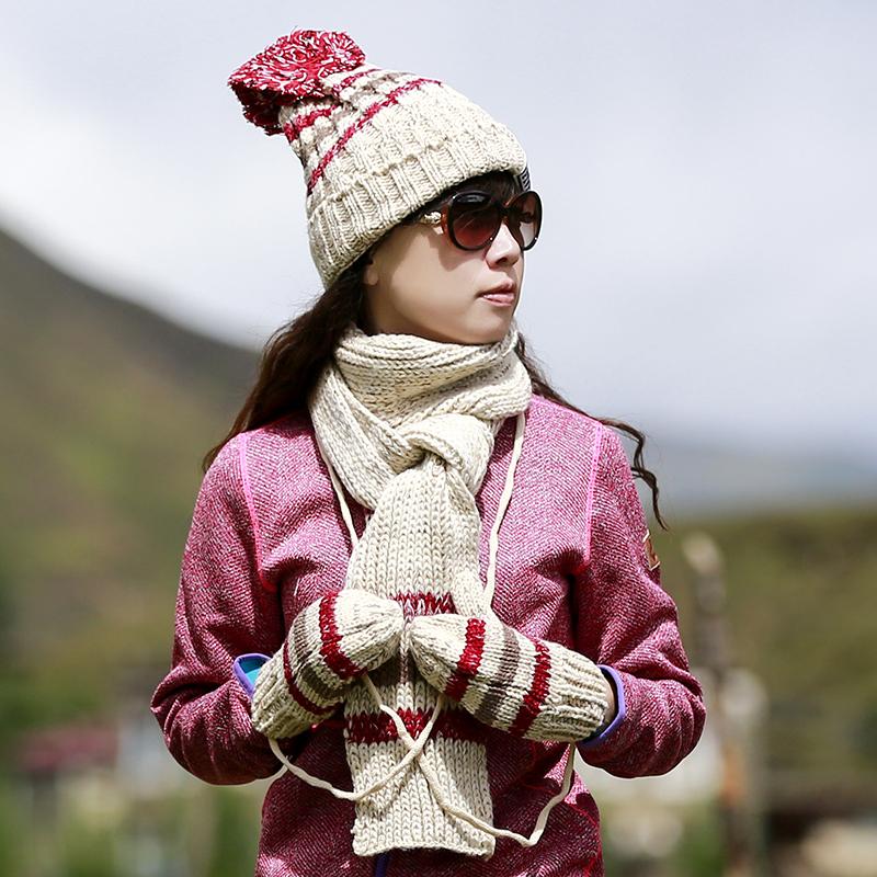 保暖抓绒女帽