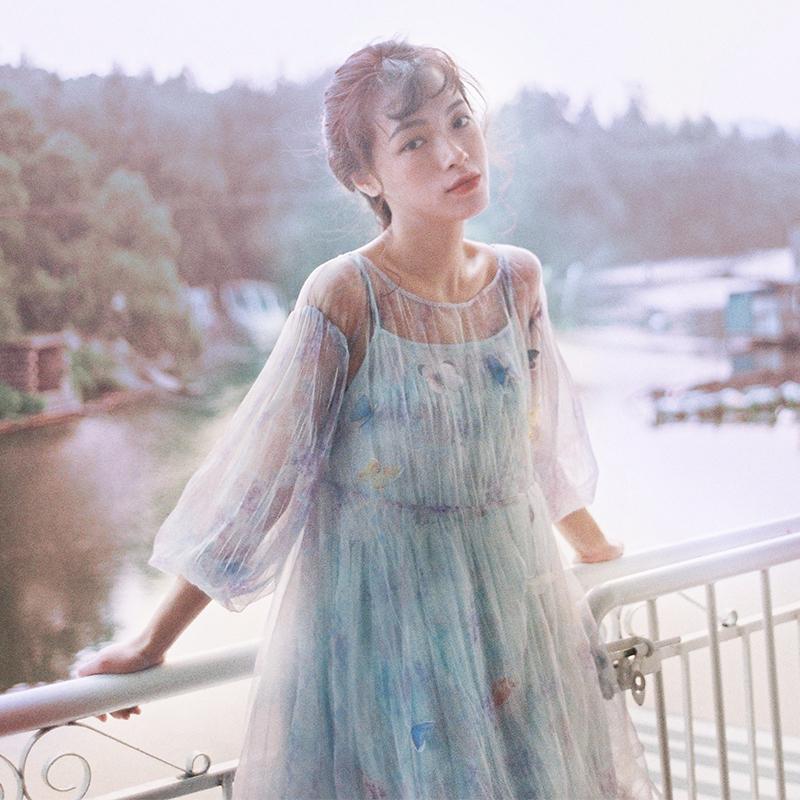 公主袖洛丽塔连衣裙