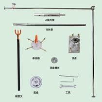 正品硅胶加强加厚钢管舞钢管便携式专业活动可悬挂家庭学校两用