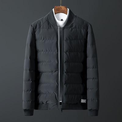 棉衣男士冬季外套加厚保暖韩版潮流修身青年学生短款立领棉袄冬装