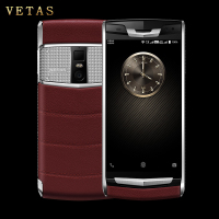 「支持私人定制」 VETAS V9 小牛皮时尚版轻奢安全商务手机