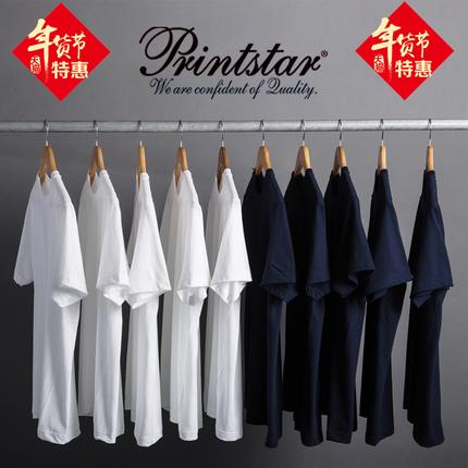 (现货)vintage日本重磅厚实纯棉面料短袖T恤男女通款非indigo