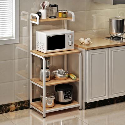 厨房微波炉架子置物架收纳储物架多层电饭煲架3层锅架烤箱架落地使用感受
