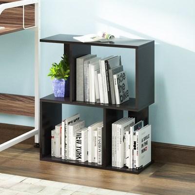时尚小书柜放书的书架客厅简约现代置物架落地收纳柜子经济型架子2018新款