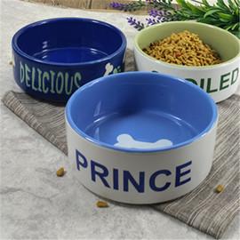 宠物碗陶瓷狗碗猫碗狗盆猫盆食盆 猫饭碗猫狗日用品单碗图片