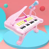 宝宝电子钢琴儿童玩具电子琴初学男孩音乐女孩婴儿早教充电1-3岁
