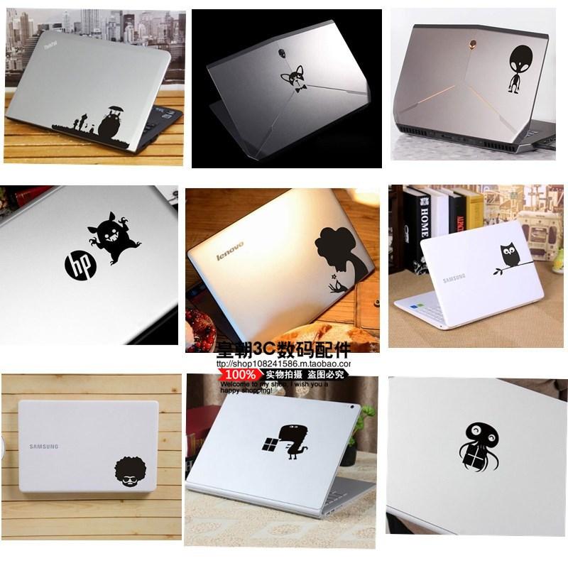苹果笔记本电脑贴纸外壳贴纸炫彩贴MacBook创意个性图案局部装饰