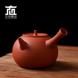 Chaozhou traditional water wood pure hand pull thin tire sand tea pot white mud red mud bubble boiled tea boiled water pottery pot jade book