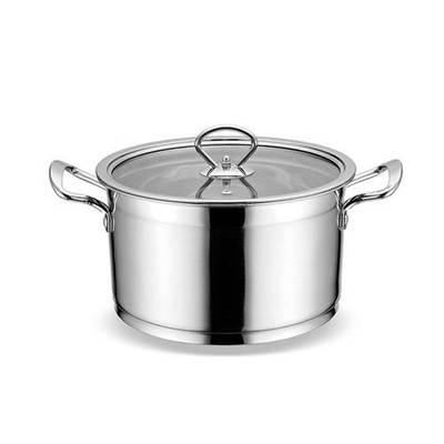 不锈钢直角汤锅