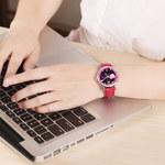 时光一百TIME100 十二星座系列自动机械表女士腕表机械表女生手表