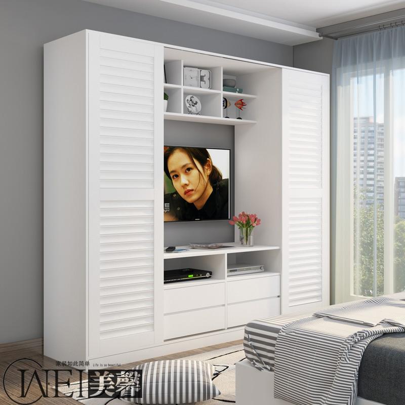 唯美馨家具推拉移门衣柜-G01