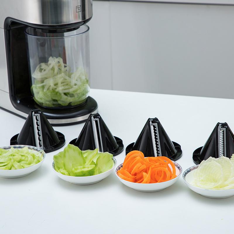 淘宝心选多功能果蔬切片切丝沙拉机料理机家用小型刨丝器切菜器