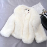 2018 short faux fur coat women's clothes Korean version of the fox fur coat autumn and winter fur coat clearance specials