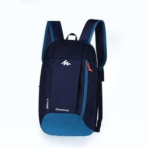 迪卡侬儿童双肩包女简易背包可爱补课包小学生手提包补习书包