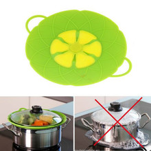 Silicone lid Spill Stopper lids Splatter Guards Cover For Pa