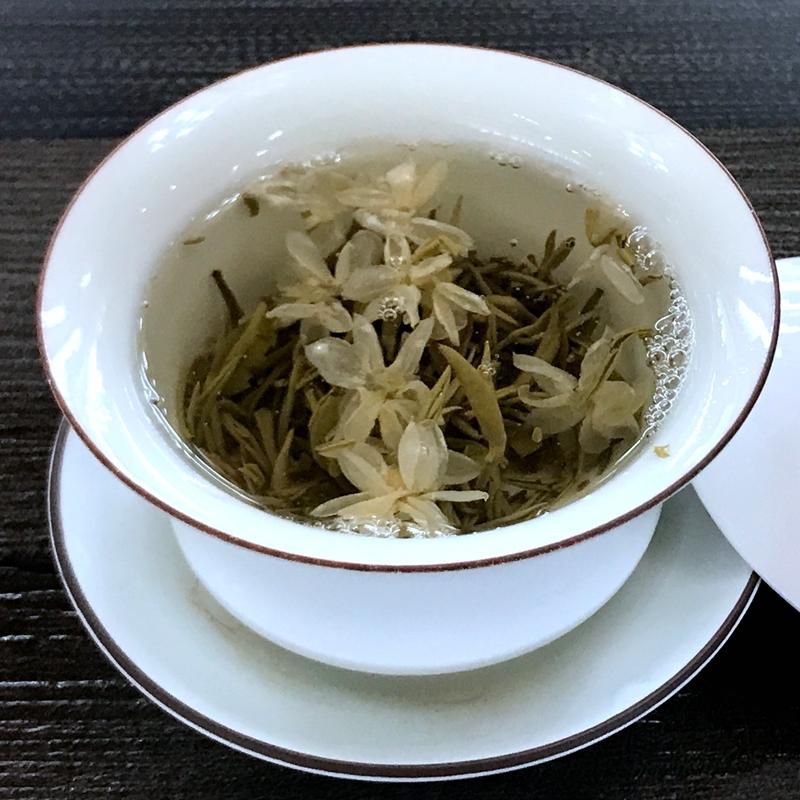 四川雅安蒙顶山茶产地直销 浓香特级自用袋装 100g 新茉莉花茶 2017