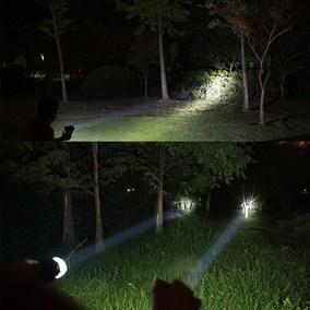 加强型高亮度LED头灯强光充电 头戴式 户外通用型手灯强力持久led