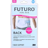3M FUTURO Women's Waist Support Waist Protection Blue Gray Petite Single Pack