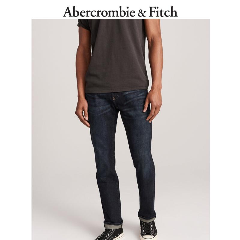 季末特惠Abercrombie&Fitch男装 直筒牛仔裤 176908-3 AF