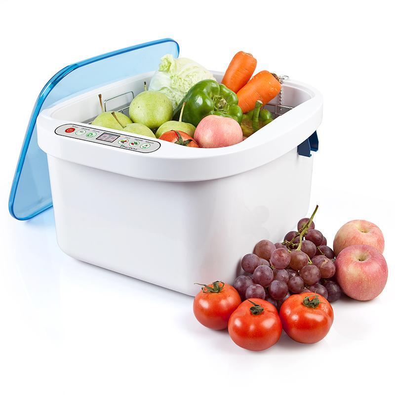 康道 KD-6001超声波洗菜机水果蔬菜超声波清洁机去除农药洗碗解毒