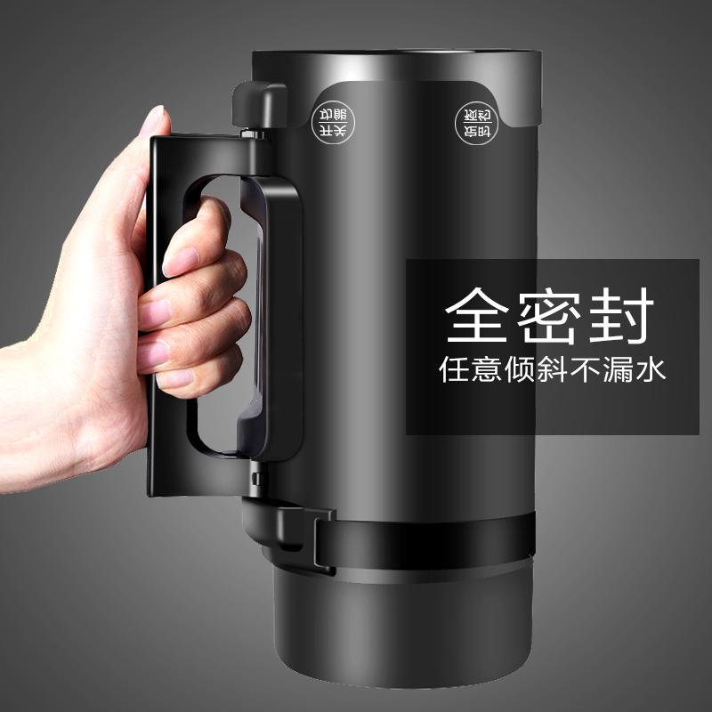 便携式迷你小型旅行养生壶旅游加热电炖煮粥杯办公室烧水电热水杯