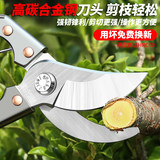 Flower cut gardening gardening shears pruning scissors pruning branches fruit tree scissors repairing flower branches shearing pruning shears