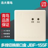 Beida Jade Bird JBF-155F is replaced by JBF-5155 Multi-line switching interface box