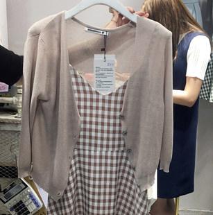 2019夏季新款针织小开衫女百搭短款韩版空调衫薄款防晒披肩小外套