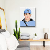Bian Boxian digital painting living room painting wall decoration painting EXO custom diy simple hand-painted color new products