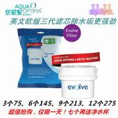 进口欧版英国安芯泉SWP820碧捷三洋滤芯净水器水杯过滤水垢漂白粉