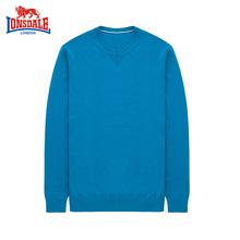 潮流 圆领修身 纯色毛衣秋冬羊毛针织衫 羊毛衫 长袖 龙狮戴尔运动男士