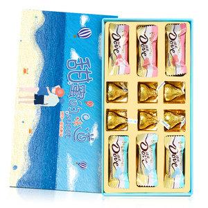 德芙巧克力礼盒装送女友男友朋友情人节生日礼物女闺蜜七夕节表白