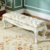 凳多功能客厅茶几凳布艺沙发矮凳床尾凳进门口穿鞋 凳子 换鞋