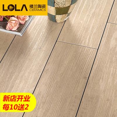 楼兰瓷砖木纹砖120x900 仿实木地板砖仿木纹仿古砖复古砖卧室客厅