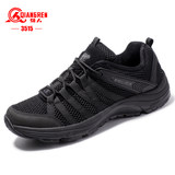 3515 top quality 09 training shoes summer male army shoes mesh surface breathable wear-resistant casual outdoor sports running shoes