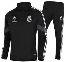 Champions League Cashmere Real Madrid Bassa Football Outfit Training Suit Sports Suit Men's Long Sleeve Jacket