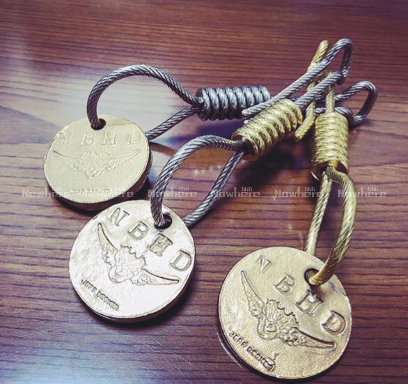 现货 NEIGHBORHOOD X JEFF DECKER 钥匙扣 余文乐 18ss 隐藏款