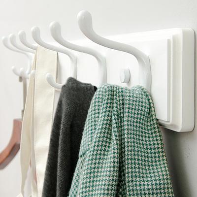 墻上衣帽架臥室實木壁掛衣架墻壁置物架簡易家用客廳創意木質掛鉤品牌排行榜
