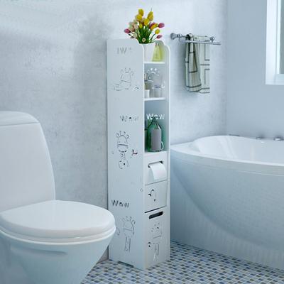 浴室卫生间储物置物架欧式马桶组合边柜厕所洗手间落地防水收纳柜哪款好