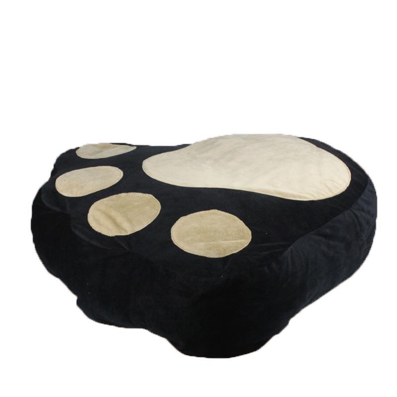 黑色大脚掌舒适柔软垫子沙发床宠物床 狗垫 宠物垫