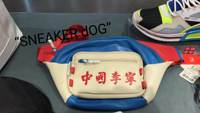 Cool City China Li Ning Fashion Week Red Flag Bag Pocket Student Bag 10th Anniversary Casual Bag
