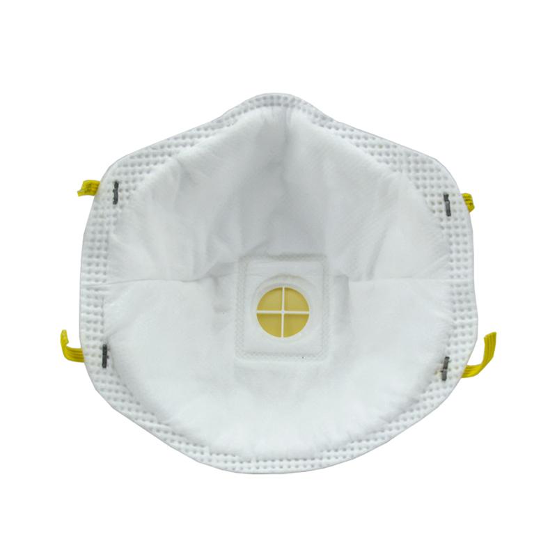 3M 8515CN N95头戴式无纺布带呼吸阀焊接打磨作业专用防尘口罩