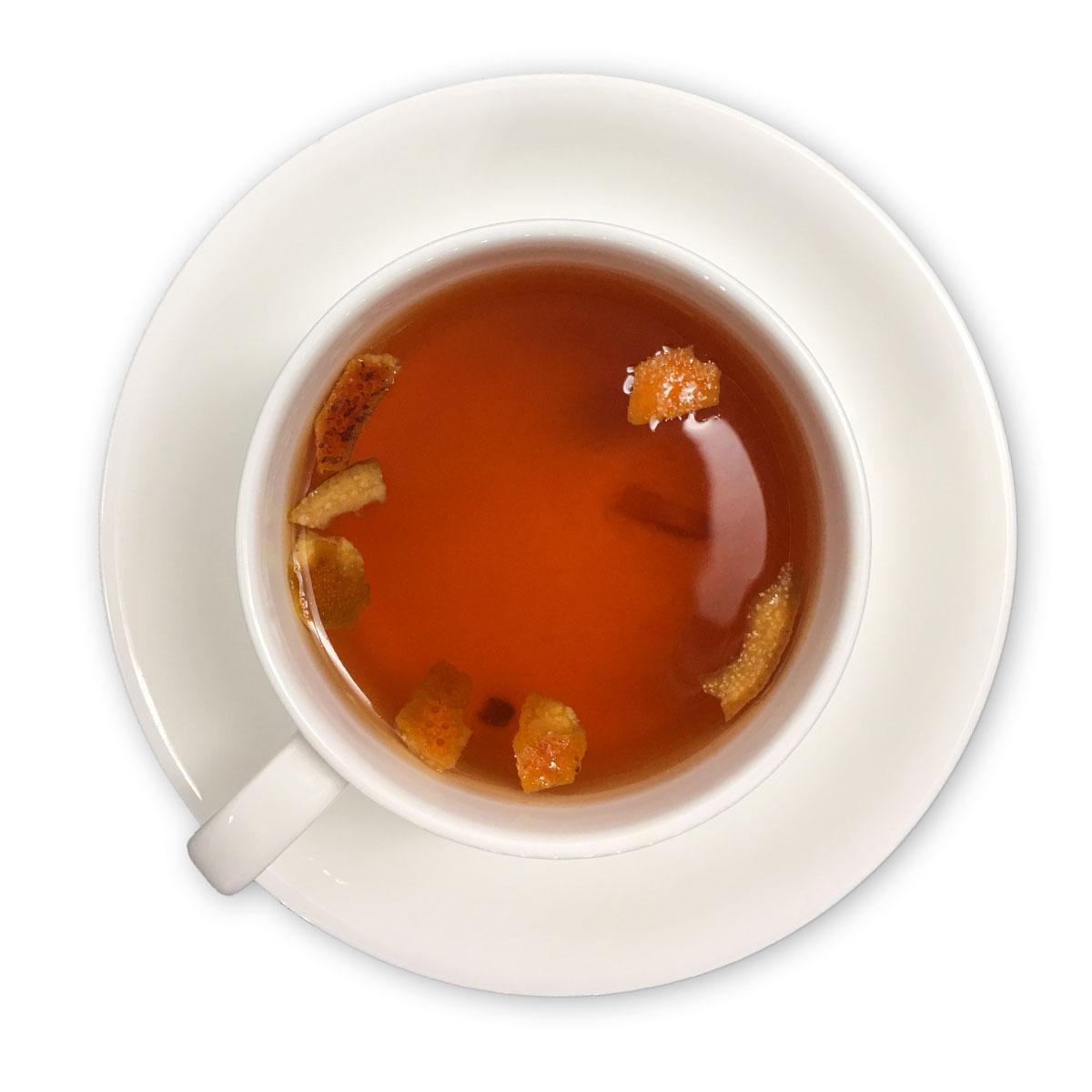 makingtea茶造橙子巧克力红茶花果茶罐装代用茶红茶茶叶