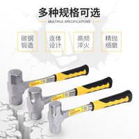 Heavy-duty large hammer square head hammer iron hammer stone hammer hammer two hammer 234 pounds one solid octagonal hammer