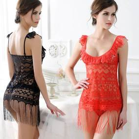 Sexy lingerie pawn section hollow sexy ladies pajamas
